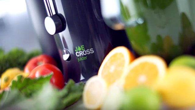 Joe Cross Juicer – just add music